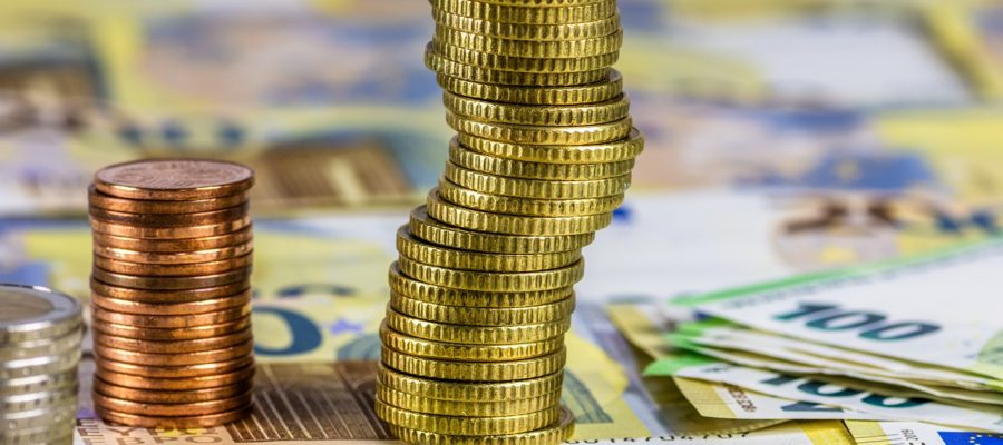 Coins Currency Cash Euro Cent  - fotoblend / Pixabay
