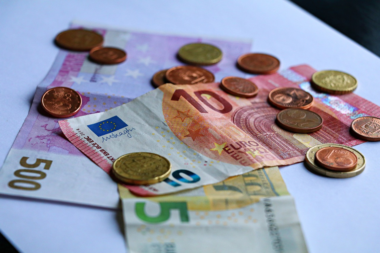 Money Euro Currency Europe